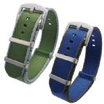 Seat Belt Weave NATO Watch Straps